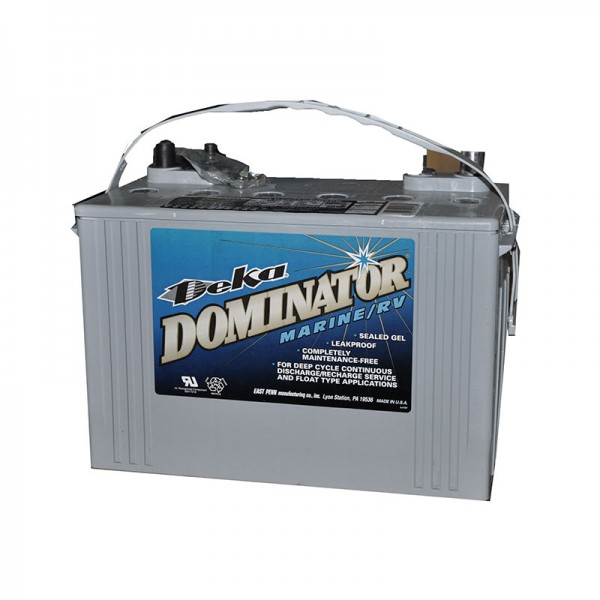 Тяговый гелевый аккумулятор DEKA DOMINATOR 8G27