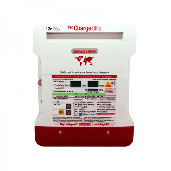 Зарядное устройство для тяговых аккумуляторов Sterling Power PCU4815
