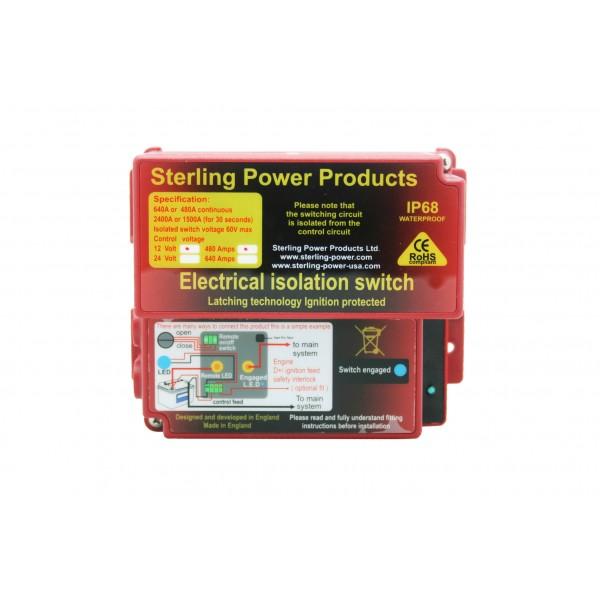 Автоматический выключатель массы Sterling Power ELB24640