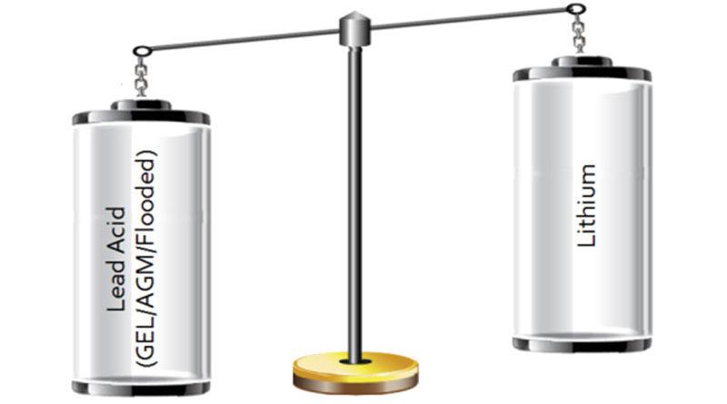 Сраснение свинцово-кислотных и литиевых аккумуляторов