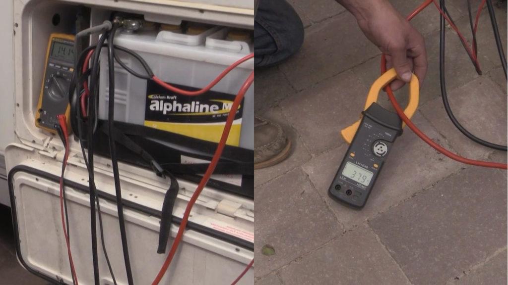 Зарядка дополнительного аккумулятора кемпера от устройства Sterling Power BB1260