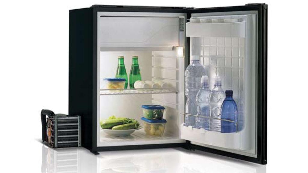 Компрессорный холодильник для автодома с выносным двигателем