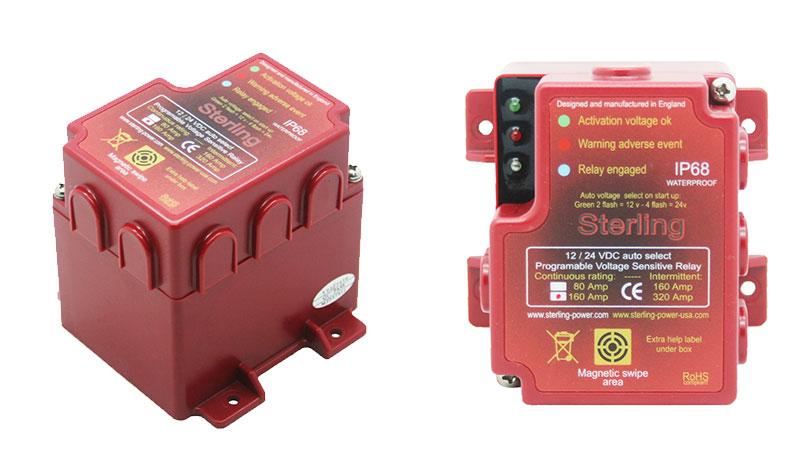 Реле развязки Sterling Power VSRB80