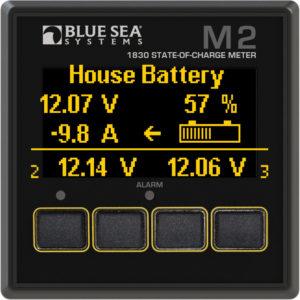 Батарейный монитор Blue Sea 1830